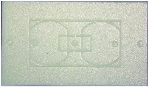 wpi25 wall plate insulation gasket