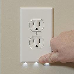 LED Lights Wall Plug Cover - Outlet Cover Plate with LED Lig