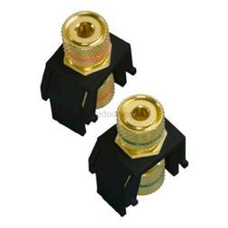 Legrand - On-Q WP3457BK Audio Binding Posts, Black