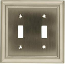 BRAINERD Liberty 64208 Architectural Double Wall Switch Plat