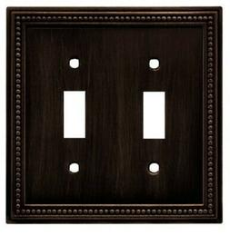 Liberty W10102-VBR Venetian Bronze Beaded Double Switch Cove