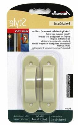 Light Switch Guards 2 Pack - Ivory