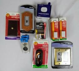 Lot Of Assorted Home & Lighting Accessories Ace Amarelle
