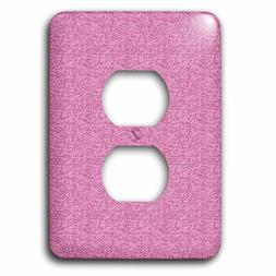 3dRose lsp_123426_6 Girly Pink Glitter Glitzy Glam Sparkly A