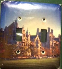 3dRose lsp_26371_2 University Of Chicago Double Toggle Switc