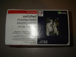 Leviton, M52-RS115-2WM 15-Amp White Preferred Switch