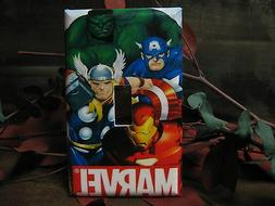 Marvel AVENGERS Light Switch Wall Plate Cover #2 - Variation
