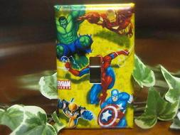 Marvel Spiderman Hulk Light Switch Wall Plate Cover #1 - Out