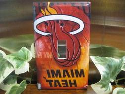 Miami Heat Light Switch Wall Plate Cover #2 - Variations Ava