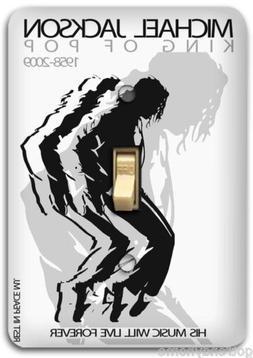 Michael Jackson Dance Light Metal Switch Plate Cover Home Wa