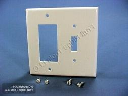 Leviton 80605-W Midway Size Thermoset Device Mount 2-Gang 1-