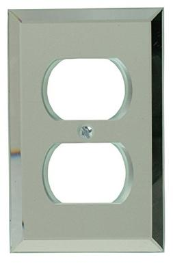 Mirror 1 Duplex Outlet Plate