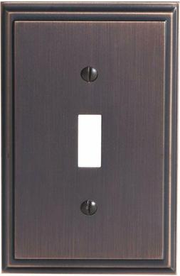 Amerock  Mulholland 1 Toggle Wall Plate - Oil-Rubbed Bronze