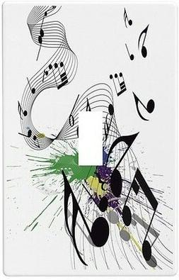 Musical Notes Wallplate Wall Plate Decorative Light Switch P