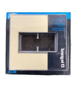 New Legrand Adorne 2-Gang Wall Plate Custom Magnesium Trim P