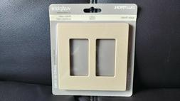 New Lutron Claro 2 Gang Decora Goldstone SC-2-GS Wallplate S