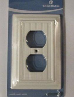 NEW Brainerd Deluxe Single Duplex Outlet Switch Wall Plate C