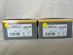 *NEW* Legrand/Greyfox 6-port Keystone Wall Plate White - qty