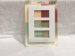 NEW LUTRON SATIN COLORS DESIGNER WALLPLATE-SNOW COLOR MATTE