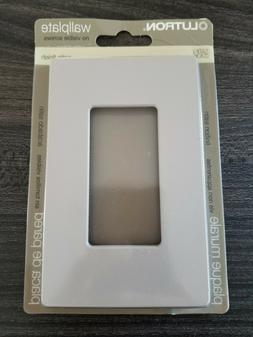 New Lutron Satin Finish Designer Wall Plate Cover