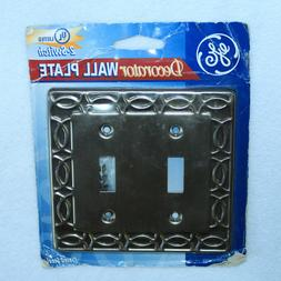 new sealed decorator wall plate electric power