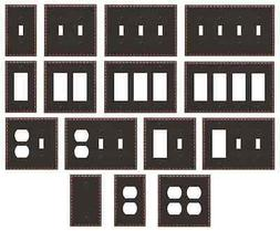 New Switch Plate GFI Outlet Cover Rocker Toggle Wall Plate -