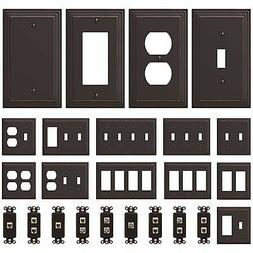 new switch plate gfi outlet cover wall