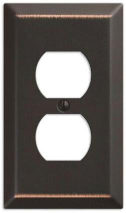 New Amerelle Wall Plate Aged Bronze Chelsea Light Switch Pla