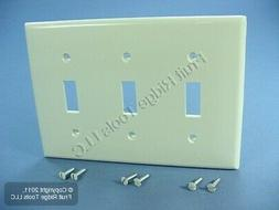 Nylon Triple Switch Wall Plate