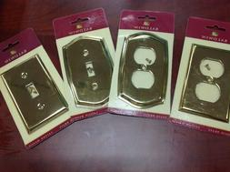 BALDWIN Outlet Covers 100% Premium Solid Brass You Choose Ne