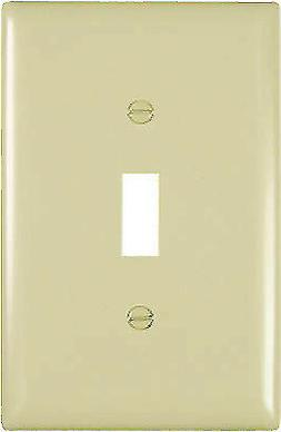 PASS & SEYMOUR Jumbo Junior Nylon Wall Plate TPJ1ICC70