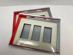 Pass & Seymour Legrand Screwless Decorator Wall Plate SWP263