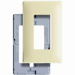 Pass & Seymour SWP26-IBPCC10 Screw Less Wall Plate Decora On