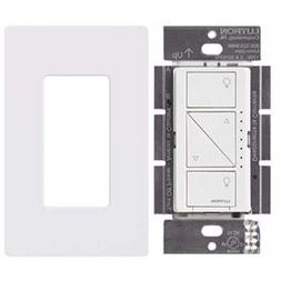 Lutron PD-10NXD-WH Caseta Pro In Wall Dimmer 250W LED with S