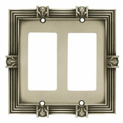 Franklin Brass Pineapple Double GFCI/Rocker Wall Plate