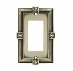 Brainerd Pineapple Single Decorator / GFCI Wall Plate, Tumbl