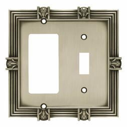 Franklin Brass 135858 Diamond Plate Single Toggle Switch Wall Plate Cover BRAINERD Switch Plate