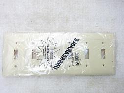 Preferred WH1006-Ivory 6-Gang Ivory Toggle Leviton 80736-I S