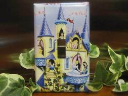 Princesses & Castle Light Switch Wall Plate Cover #1 - Varia