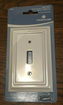 Brainerd pure white toggle Wall Plate # 179072