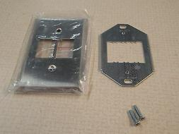 GE Remote Control Wallplate RP2126 1 Gang For 2 Switches Sta