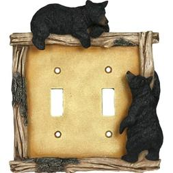 Rep Bear Double Switch Plate Cover Crd 618