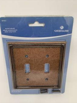 Ruston Double Switch Wall Plate, Wall Lighting, Light Switch
