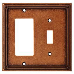 Ruston Single Switch/Decorator Wall Plate, Wall Lighting, Li