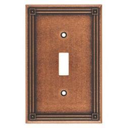 Ruston Single Switch Wall Plate, Wall Lighting, Light Switch