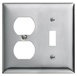 Bryant Electric SCH18 2-Gang 1-Toggle 1-Duplex Standard Size