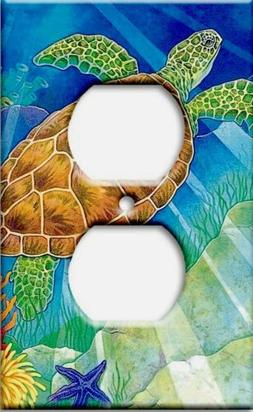 Art Plates - Sea Turtle Switch Plate - Outlet Cover