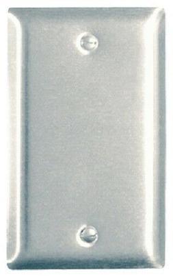 PASS & SEYMOUR Sierraplex Wall Plate, Blank, Stainless-Steel