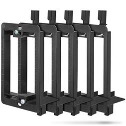 Fosmon 5 Pack Single 1-Gang Low Voltage Wall Plate Mounting