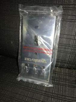 Snap-On Light Switch Plate with hanging hooks SSX17R7 Snap O